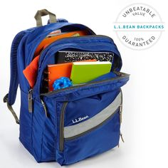 """This year marks the 25th birthday of our Deluxe Book Pack – the one our customers have called """"unbelievably durable"""" and """"an amazing value."""" Celebrate with us – get 25% off for a limited time! Shop now: http://bit.ly/LLBean_25th_Anniversary_Pack And don't forget to enter our #ThrowpackLLBean contest - you could win a $50 gift card. Details here: http://bit.ly/LLBean_BLOG_ThrowPackThursday"""