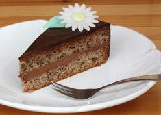 Orechovo-čokoládová torta - recept