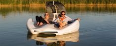 Chilli Island fuses electric boat and lounger into one