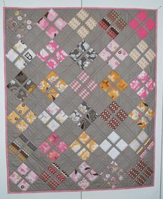 Free quilting pattern: Daisy Baby Quilt