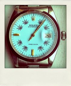 Ganja Rolex ~ Old Man Fancy.      I don't even smoke,  but I like this.