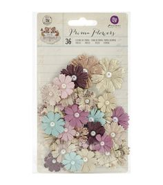 Prima Marketing Butterfly Chenille Mulberry Paper Flowers