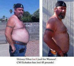 LADIES, men take Skinny Fiber too!! Skinny Fiber is not just for women. Tell the men in your life don't let that pink bottle fool them. Tell them to come and join us on the SBC90 Challenge. It's working for 1000s.  Click here for more details --> http://mrsmcgraw.sbc90.com