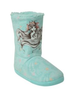 Disney The Little Mermaid Sketch Slipper Boot....... Ahhhh want these!!!
