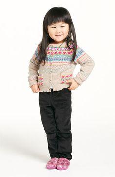 United Colors of Benetton Kids Sweater & Velvet Pants