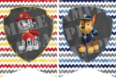 Printable Paw Patrol Birthday Banner by LilahMoo on Etsy