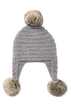bfb1b23a Michael Kors - Faux Fur Trimmed Crochet Trapper Hat is now 78% off. Free