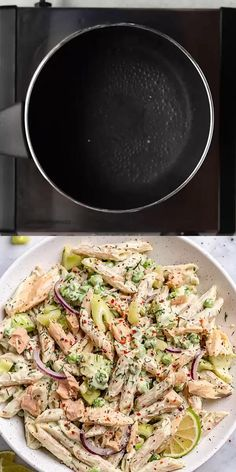 This Tuna Pasta Salad is not only healthy, filling, and utterly delicious, it is easy to make and loaded with flavor. Creamy Tuna Pasta, Tuna Salad Pasta, Pasta Salad Recipes, Healthy Salad Recipes, Healthy Breakfast Recipes, Healthy Dinner Recipes, Breakfast Sushi, Cooking Recipes, Tasty Meals