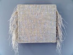 Wall Sculpture With Embedded Print And by ChristineGraf on Etsy, $720.00