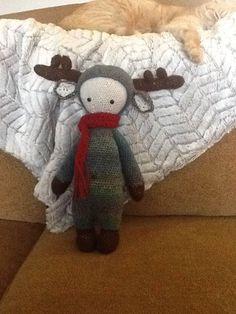 Elk mod made by Deborah L. / based on a lalylala crochet pattern