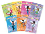 Music Fairies (Rainbow Magic Series Books) - there are many different fairy series to choose from. Probably the easiest of all the chapter books we've read - a great into to chapter books for girls.