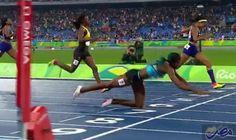 شوناي ميلر تخاطر بحياتها من أجل الفوز…: خاطرت العداءة شوناي ميلر من جزر البهاما بحياتها من أجل الفوز بسباق 400 متر خلال أوليمبياد ريو دي…