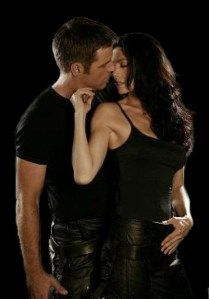 John and Aeryn from Farscape - A love that will last forever <3  #Farscape