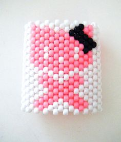 omfgg hello kitty cuff I want to make this..i think I will