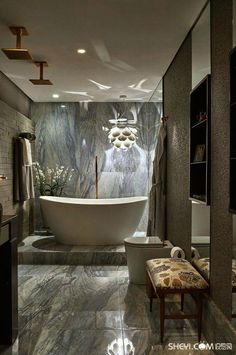 Luxury Master Bathroom Ideas is very important for your home. Whether you pick the Luxury Bathroom Master Baths Photo Galleries or Luxury Master Bathroom Ideas Decor, you will create the best Bathroom Ideas Apartment Design for your own life. Replace Bathroom Faucet, Small Bathroom, Master Bathroom, Master Baths, Grey Marble Bathroom, Neutral Bathroom, Marble Bathrooms, Glass Bathroom, Bathroom Art