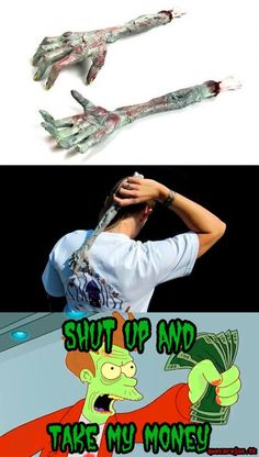 zombie hand back scratcher The Walking Dead, Walking Dead Zombies, Back Scratcher, Zombie Attack, Zombieland, Take My Money, Stuff And Thangs, Zombie Apocalypse, Best Funny Pictures