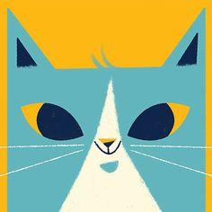My awkward little kitty. #illustration #catscatscats