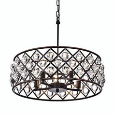 Looking for the perfect Azha 5 Light Crystal Drum Chandelier Ceiling Fixture Oil Rubbed Bronze? Please click and view this most popular Azha 5 Light Crystal Drum Chandelier Ceiling Fixture Oil Rubbed Bronze. Crystal Chandelier Lighting, Drum Pendant, Pendant Chandelier, Pendant Light Fixtures, Ceiling Fixtures, Chandeliers, Ceiling Lighting, Modern Farmhouse Lighting, Crystal Sphere