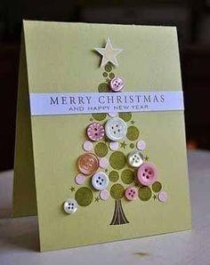 Biglietti auguri di Natale fai da te – varie idee