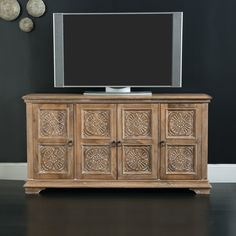 Hooker Furniture 68 in. Entertainment Console - 5515-55468-LTWD