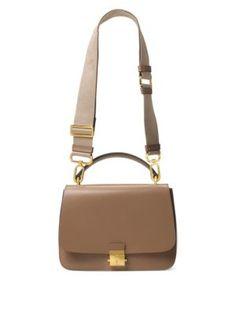 MICHAEL KORS Mia Leather Top Handle Shoulder Bag. #michaelkors #bags #shoulder bags #hand bags #leather #