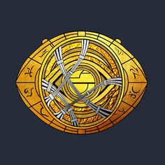 Check out this awesome 'Eye+of+Agamotto+%28Real+gold+Version%29' design on @TeePublic!