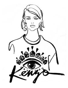 Kenzo really hit a home run with these jumpers this season- I love.
