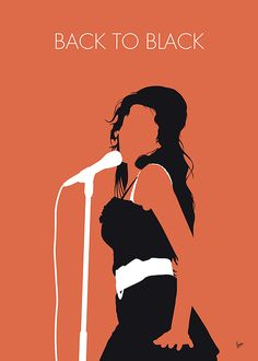 "No133 MY AMY WINEHOUSE Minimal Music poster by Chungkong.nl  ""Back to Black"" is a song by English singer and songwriter Amy Winehouse.   TAGS: AMY, WINEHOUSE, Back, to, Black, 2007, 00s, Mark, Ronson, rehab,   minimal, minimalism, minimalist, poster, artwork, alternative, graphic, design, idea, chungkong, simple, cult, fan, art, print, retro, icon, style, gift, room, wall, classic, original, time, best, quote, song, music, inspiration, rock, guitar, star, artist,"