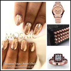 Salon nails from today using products Salon Nails, Nail Technician, Nail Artist, Salons, Mosaic, Products, Living Rooms, Mosaics, Gadget