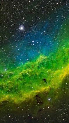 Stars & Space green color