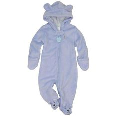 ad91d01df Unisex Soft Hooded Character Baby Fleece Overall. Baby Boy RomperBaby ...