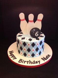 Retro Bowling Cake!