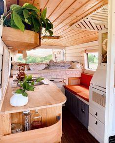 Bus Life, Camper Life, Diy Camper, Camper Van, Bus Living, Tiny Living, Living In A Caravan, Minibus, Travel Camper