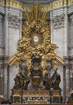 Cátedra de San Pedro, de Bernini