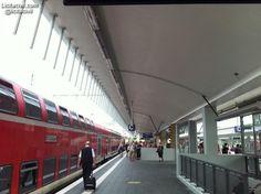 Andenes de la estación de #ferrocarril de #Münster #Alemania #InfraIntel