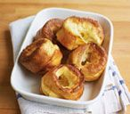 Impress your dinner guests with these light and fluffy battered puddings! Find out how to make yorkshire pudding and to view hundreds of other recipes visit Tesco Real Food today! How To Make Yorkshire Pudding, Yorkshire Pudding Tray, Yorkshire Pudding Recipes, Roast Dinner Side Dishes, Vegan Christmas, Family Christmas, Christmas Cookies, Xmas, Bbc Good Food Recipes