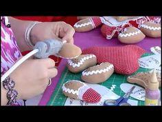 Muñecos navideños  Dulce Cookies - Parte I + Costuras - YouTube