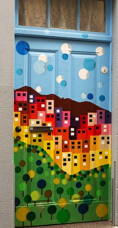 """""""City on the Door"""" - photo by Art is life playing to other rhythms, via Flickr;  in Old Town Funchal , Madeira Islands, Portugal"""