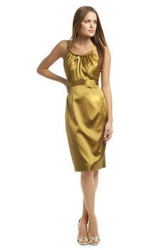 For Kim's wedding: Elle Tahari Fresca Satin Dream Dress