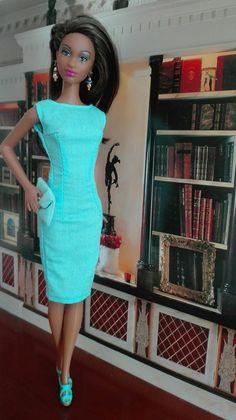 Barbie so in Style Grace  Kleid: By-Elle,    eBay    Schmuck: Tafehnja, eBay