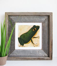 Frog Nursery Art Print on Paper The Frog Prince by pictureatale, $14.99