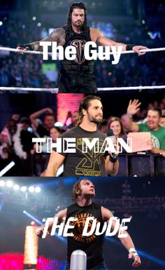 The Shield - Dean Ambrose, Seth Rollins and Roman Reigns.  #theshield #wwe #finelookingmen