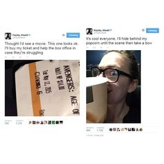 Hayley Atwell watching Avengers: Age of Ultron at theaters.