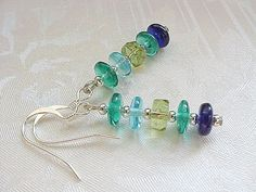 Hey, I found this really awesome Etsy listing at https://www.etsy.com/listing/215245075/emerald-green-earrings-shades-of-green