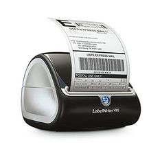 Amazon.com : DYMO LabelWriter 4XL Thermal Label Printer (1755120) : Label Makers : Office Products