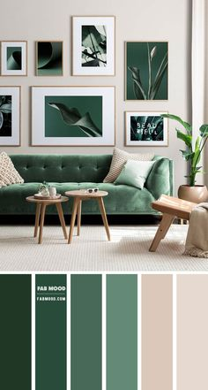 Taupe Living Room, Living Room Green, Living Room Sofa, Home Living Room, Living Room Furniture, Living Room Color Combination, Living Room Color Schemes, Paint Colors For Living Room, Home Room Design
