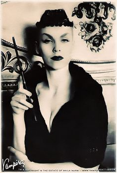 Fuck Yeah Vampira : in loving memory of Maila Nurmi, the original glamour ghoul 1922-2008