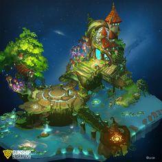 Lamplit Lagoon by GunshipRevolution on deviantART