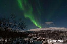 Aurora in Abisko (Photo Blog Suitbert Monz)