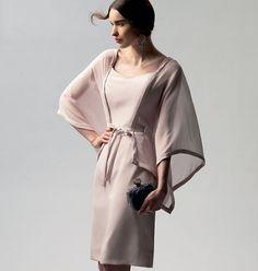 Patron de robe et ceinture - Vogue 1330